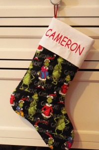 Cameron's Stocking
