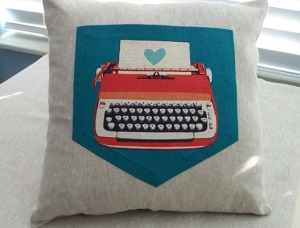 Love Letter Pocket Pillow