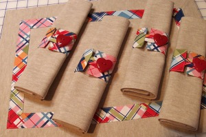Madras Plaid Placemat Sets