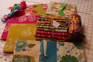 Lucky Penny and Melody Miller fabric